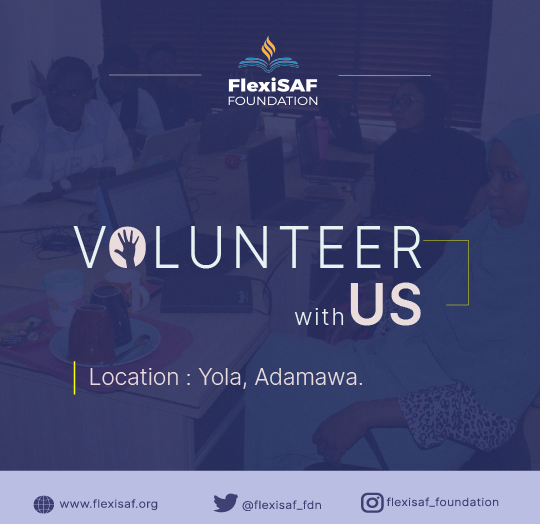 FLEXISAF FOUNDATION VOLUNTEER OPPORTUNITY