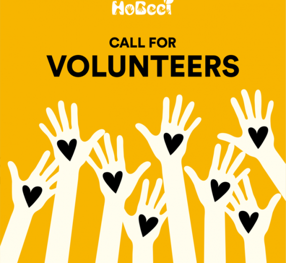 HOBEEI CALL FOR VOLUNTEERS