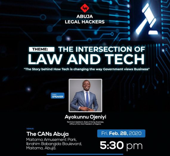 ABUJA LEGAL HACKERS MEET-UP 28TH FEBRUARY 2020