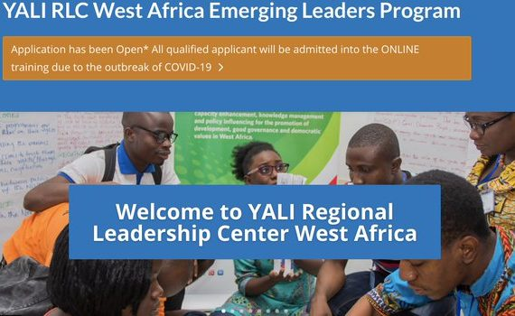 YALI RLC WEST AFRICA EMERGING LEADERS PROGRAM COHORT 17