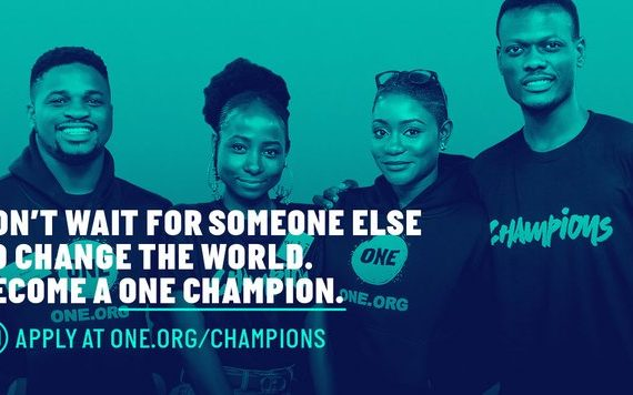 BECOME A ONE CHAMPION IN NIGERIA #ONECHAMPIONS!