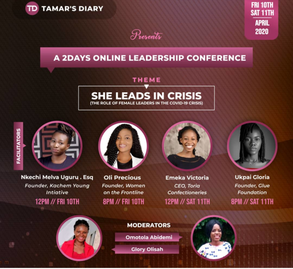TAMAR'S DIARY- 2 DAY ONLINE CONFERENCE
