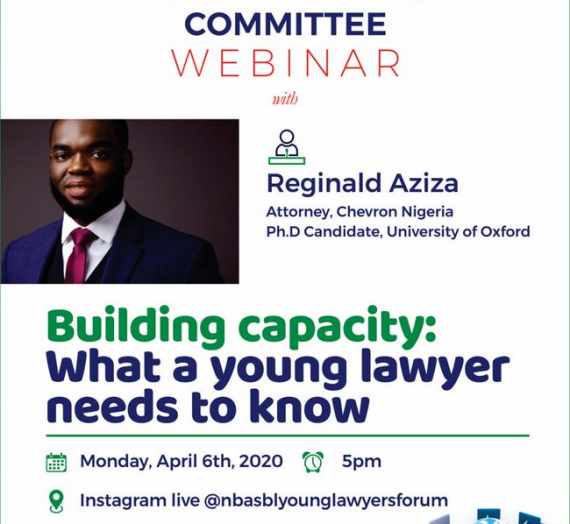 BUILDING CAPACITY: WHAT A YOUNG LAWYER NEEDS TO KNOW