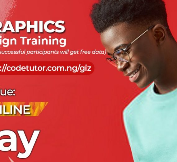 GIZ-CODETUTOR ONLINE GRAPHICS DESIGN TRAINING