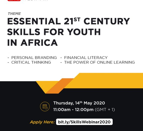 ESSENTIAL 21ST CENTURY SKILLS FOR YOUTH IN AFRICA