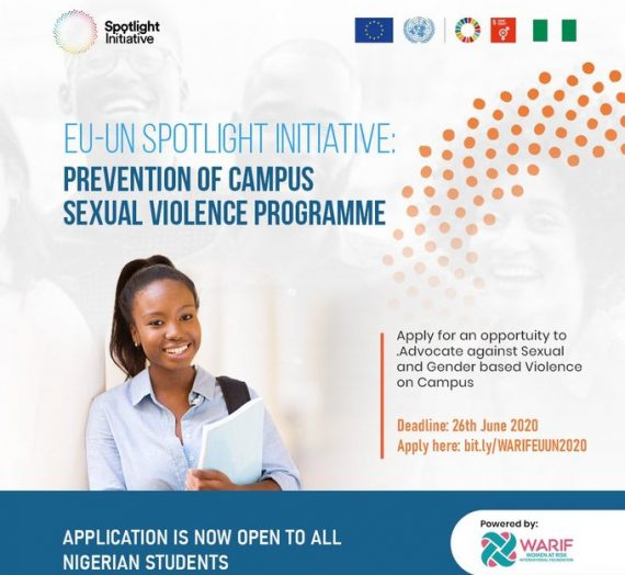 EU-UN SPOTLIGHT INITIATIVE: PREVENTION OF CAMPUS SEXUAL VIOLENCE PROGRAMME