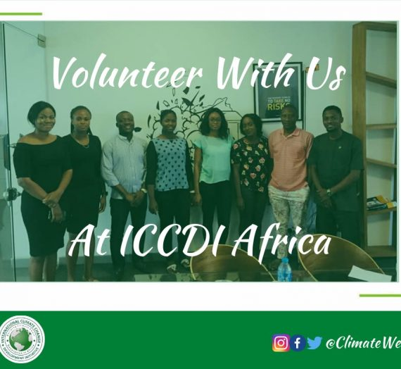 VOLUNTEER WITH AT ICCDI AFRICA
