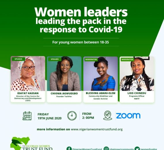 WOMEN LEADERS LEADING THE PACK IN THE RESPONSE TO COVID-19