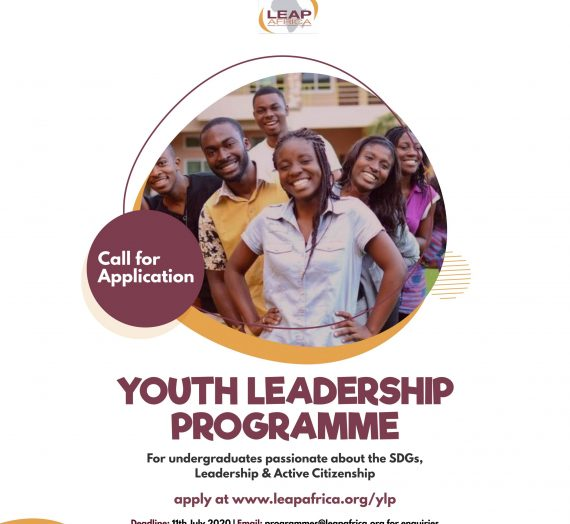 YOUTH LEADERSHIP PROGRAMME APPLICATION 2020
