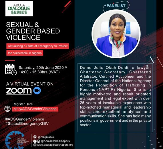 SEXUAL AND GENDER-BASED VIOLENCE; ACTUALIZING A STATE OF EMERGENCY TO PROTECT THE VULNERABLE IN NIGERIA – DIALOGUE SERIES
