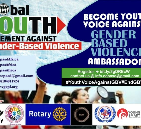 APPLY TO BECOME A YOUTH VOICE AGAINST GENDER BASED VIOLENCE AMBASSADOR
