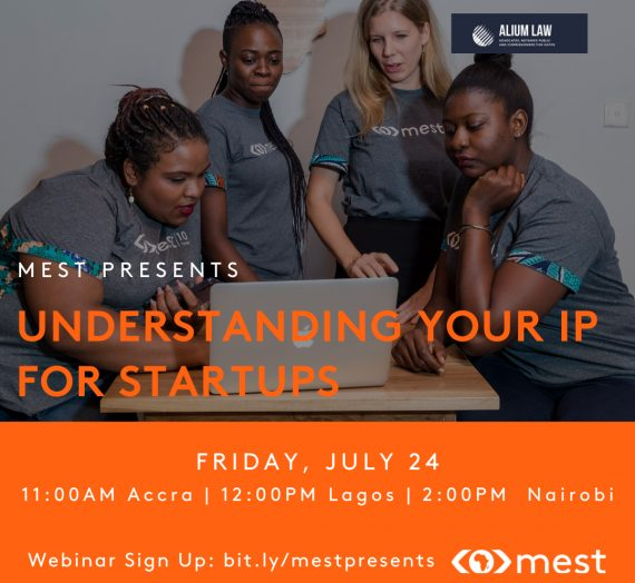 MEST PRESENTS UNDERSTANDING YOUR INTELLECTUAL PROPERTY
