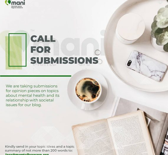 CALL FOR SUBMISSIONS ON MENTAL HEALTH
