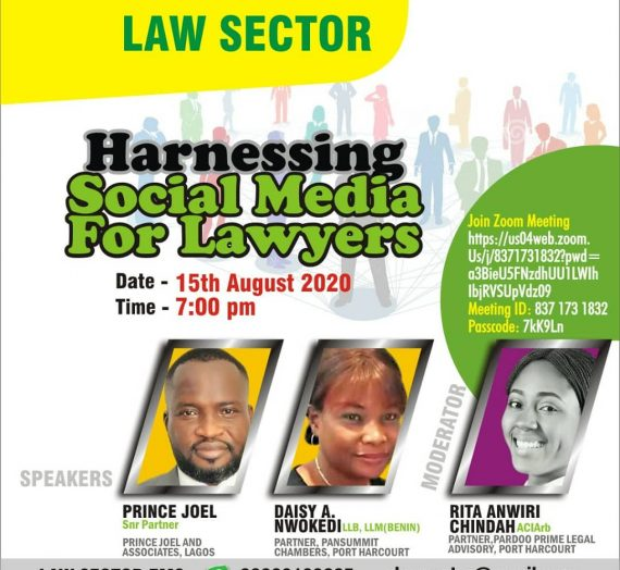 HARNESSING SOCIAL MEDIA FOR LAWYERS