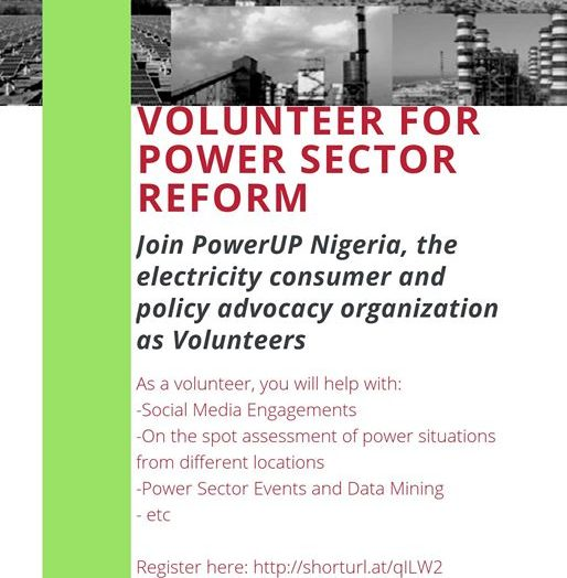 VOLUNTEER FOR POWERUP