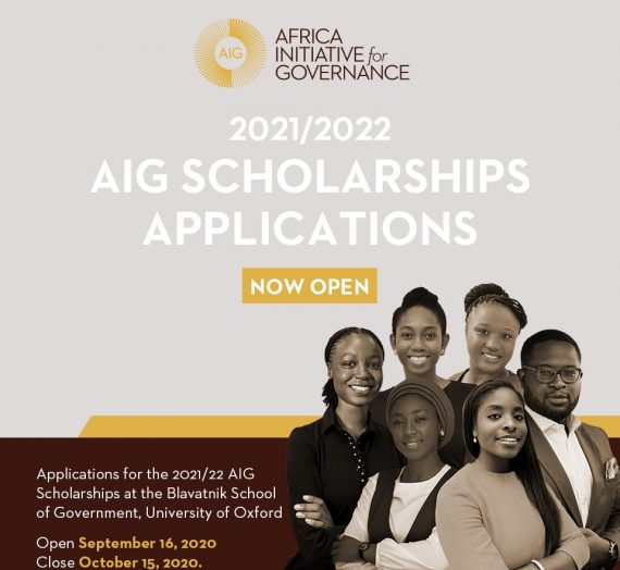 AFRICA INITIATIVE FOR GOVERNANCE (AIG) 2021/22 SCHOLARSHIPS