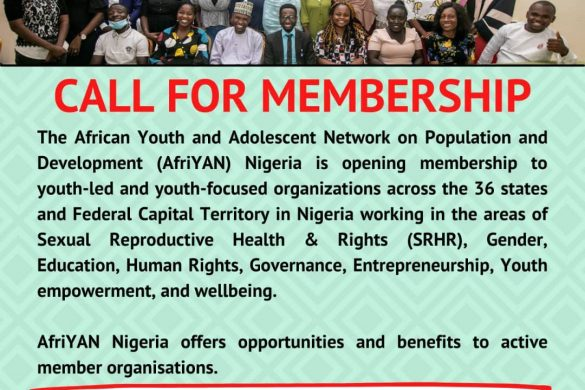 AfriYAN Call for membership