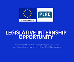 PLAC 2021 Legislative Internship Programme